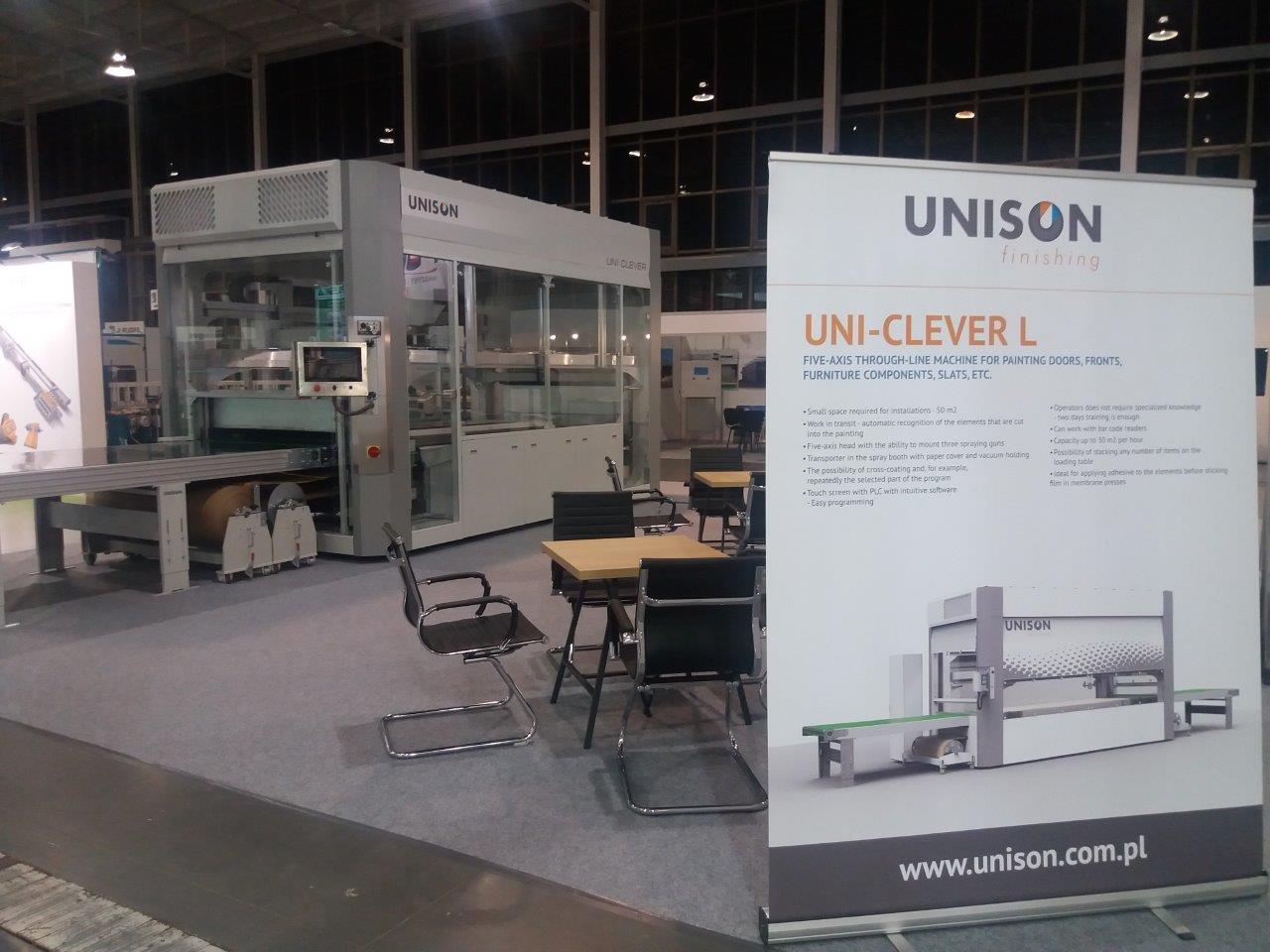 Automaty lakiernicze UNISON